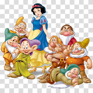 Blanche-Neige et les Sept Nains, Blanche-Neige Grimms 'Fairy Tales Sept Nains, Blanche-Neige png