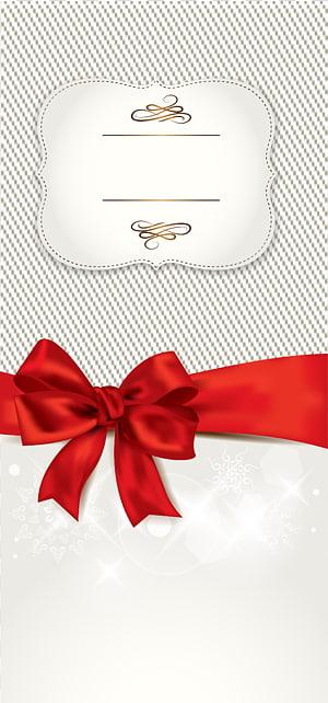 Modèle de carte-cadeau Icône, étiquette, noeud papillon ruban rouge png