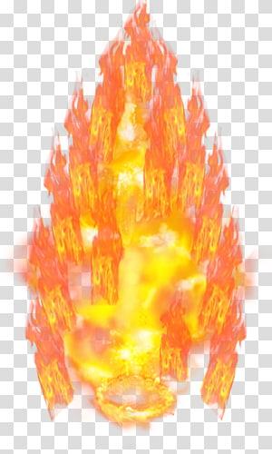 feu, Goku Vegeta Super Saiya Saiyan, aura png