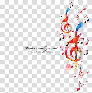 Note de musique, fond de notes de musique, fond de notes de musique png
