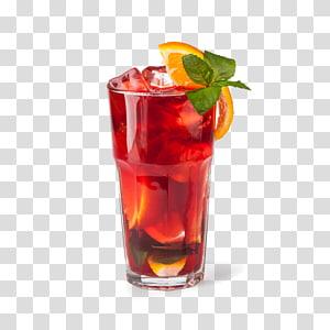 jus de fruits, jus de cocktail Long Island thé glacé Mojito rhum et coke, boisson rouge png