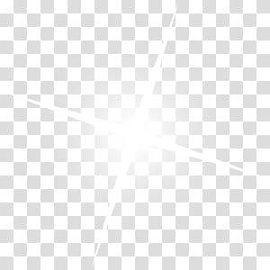 Étoiles blanches brillantes png