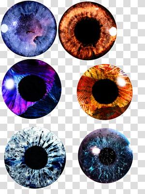 Eye PicsArt Studio Light Color, baground png