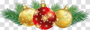 Décoration de Noël Carte de Noël, décoration de Noël, décoration de boules de Noël, boule de Noël png