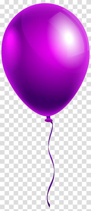 Ballon, ballon violet simple, ballon violet png