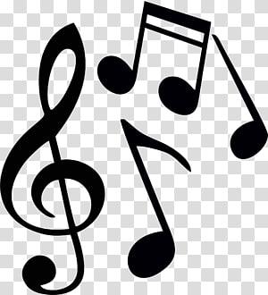 illustration de notes de musique, chœur de Walnut Creek Contra Costa Chorale Enfants \ Billets de musique en papier brun png