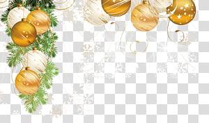Boule de Noël, ornement de Noël Décoration de Noël du père Noël, sapin de Noël, Noël créatif png