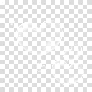 Motif d'angle noir blanc, bulle de savon png
