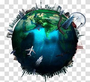 terre bleue et verte, affiche de la terre, terre png