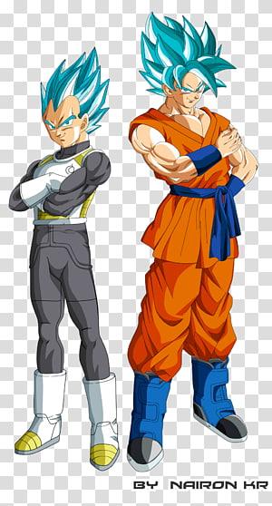 Boule de dragon de Goku Vegeta Gohan Frieza, illustration de Super Dragon Ball, Super Saiyan Goku et Vegeta png