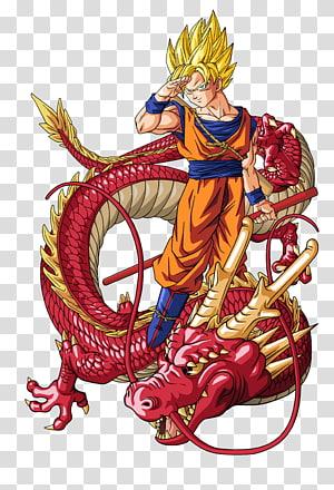 Son Goku de Dragon Ball Z, T-shirt Goku Vegeta Gohan Shenron, boule de dragon super png
