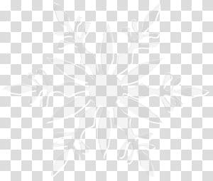 Motif de point d'angle de ligne Symmetry, flocon de neige, oeuvre grise en flocon de neige png