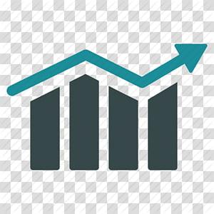 illustration de flèche noire et verte, icônes d'ordinateur symbole graphique à barres, flèche, graphique à barres, diagramme, graphique, croissance, progrès, icône de la tendance png