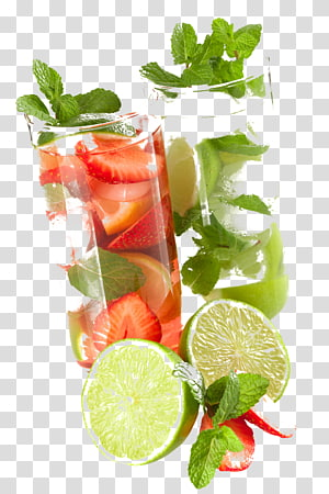 Mojito Cocktail Rum Daiquiri Negroni, jus de fruit png