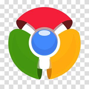 Logo Google Chrome, symbole graphique jaune, Chrome ancien png