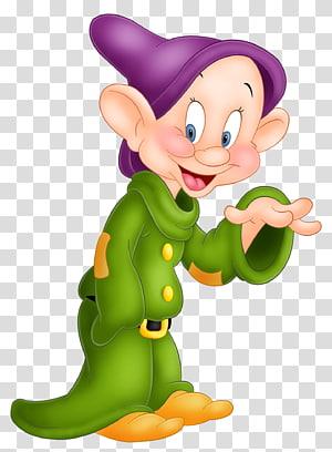 Blanche Neige Dopey Sept Nains Sneezy Grincheux, Dopey Blanche Neige, illustration de Disney Dopey png