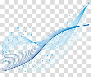 Point Euclidien, matériau des lignes créatives, bleu png