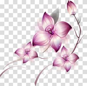 Icône Fleur, Grandes Clips De Fleurs Rose Peints, illsutration De Fleurs Rose png