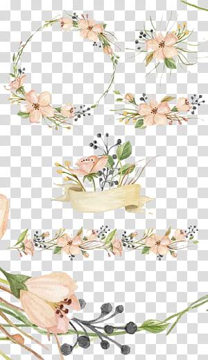 Aquarelle, marché créatif Fleurs roses, fleurs peintes à la main, fleurs roses png