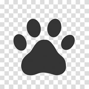 illustration d'impression de patte, icônes d'ordinateur de patte de chien, patte de chat png