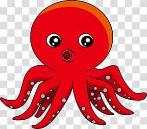 Calmar géant Octopus, calmar png