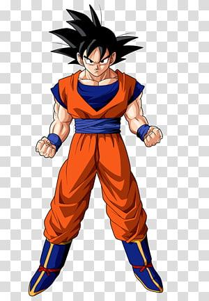 Illustration de Son Goku, Dragon Ball Z Dokkan Battle Goku Gohan Vegeta, Goku png