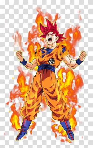 Dragon Ball Z Son Goku super sayan, Goku Vegeta Majin Buu Beerus Cell, goku png