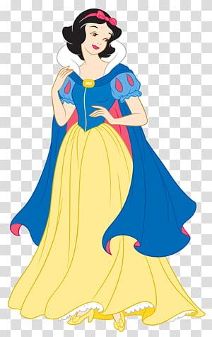 Snowhite illustration, Blanche-Neige Ariel Rapunzel Princesse Aurora Sept Nains, Classique Blanche-Neige Princesse png