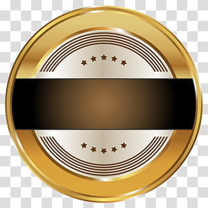 logo rond noir et blanc, modèle d'insigne de phoque png