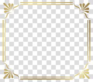cadre, bordure de cadre, bordure florale brune png