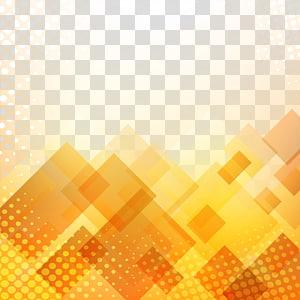 Orange, fond orange décoratif, illustration abstraite png