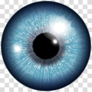 Montage de la lumière parasite Oeil, grands yeux png