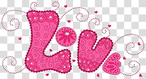 Motif de coeur d'amour, amour rose, illustration d'amour png