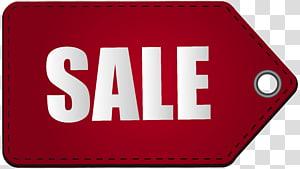 illustration de balise de vente rouge, ventes, balise de vente rouge png