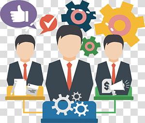 illustration des personnes qui travaillent, travail des entreprises, horaire de travail de planification d'équipe png
