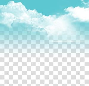 Ciel nuageux, ciel bleu et nuages blancs, ciel nuageux pendant la journée png
