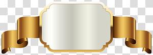 Étiquette, modèle d'étiquette en or, illustration d'argent et d'or png