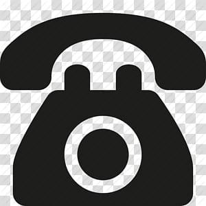 Téléphone ordinateur icônes téléphones mobiles, icône de téléphone Vieux, téléphone, icône de téléphone, logo de téléphone violet et noir png