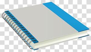Mumbai Paper Notebook Manufacturing, Bloc-notes, cahier à spirale blanche et bleue png