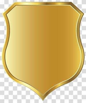 modèle de bouclier doré, icône de bouclier Scalable Graphics, modèle Golden Badge png