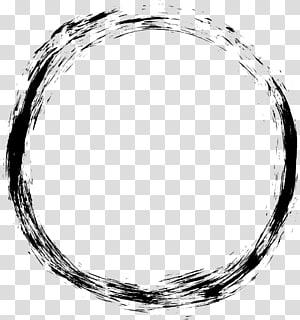 rond noir illustration, ordinateur icônes grunge, cercle cadre png