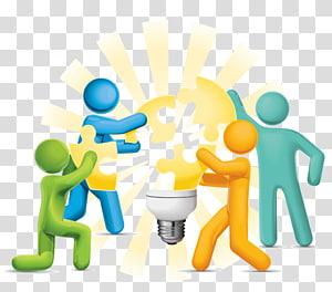 groupe de personnes, Leadership Management Innovation Gemba Créativité, travail d'équipe png