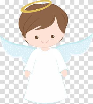ange baptême première communion bébé ange png