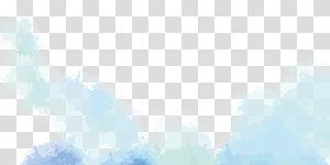 sarcelle aquarelle illustration, nuage euclidien, nuage png