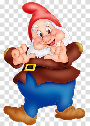 Blanche-Neige sept personnage nain, Blanche-Neige sept nains Grumpy Dopey Sneezy, Nain png