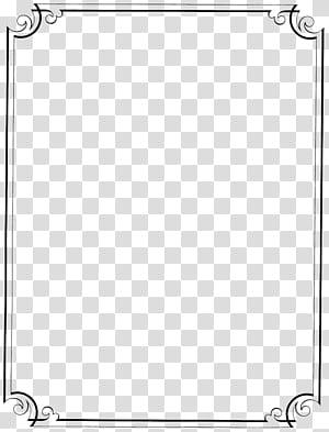 Modèle, fichier de cadre de bordure vintage, cadre gris et noir png
