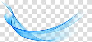 Bleu, fond de lignes abstraites de la grosse vague, bleu png