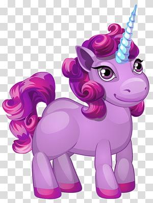 personnage mon petit poney violet, Licorne Pegasus, mignon poney violet png