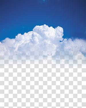 lit nuage blanc, affiche ciel nuage, nuage png
