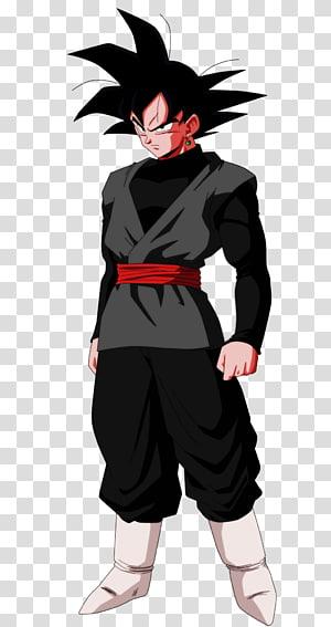 Son Goku, Goku Végéta Noir Majin Buu Trunks, Dragon Ball Super s png
